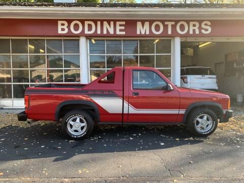 1989 Dodge Dakota for sale at BODINE MOTORS in Waverly NY