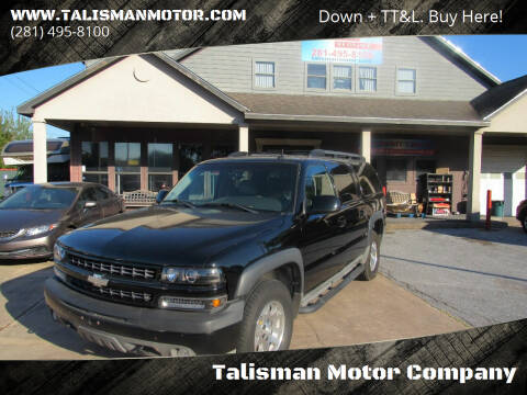 2004 Chevrolet Suburban for sale at Don Jacobson Automobiles in Houston TX