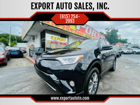 2016 Toyota RAV4 Hybrid for sale at EXPORT AUTO SALES, INC. in Nashville TN