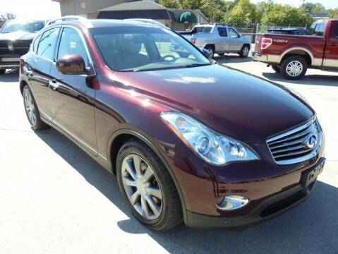 2013 Infiniti EX37 for sale at PIONEER AUTO SALES LLC in Cleveland TN