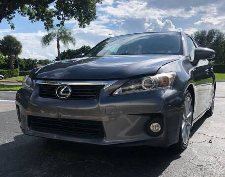 2012 Lexus CT 200h for sale at GERMANY TECH in Boca Raton FL