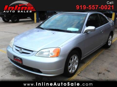 2003 Honda Civic for sale at Inline Auto Sales in Fuquay Varina NC