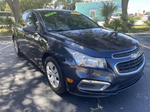2015 Chevrolet Cruze for sale at Palm Bay Motors in Palm Bay FL