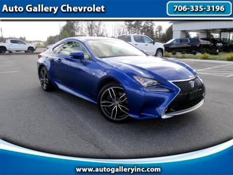 2016 Lexus RC 350 for sale at Auto Gallery Chevrolet in Commerce GA