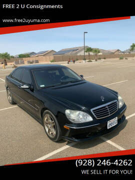 2003 Mercedes-Benz S-Class for sale at FREE 2 U Consignments in Yuma AZ