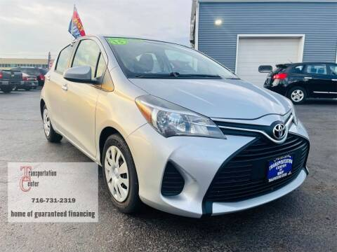 2015 Toyota Yaris for sale at Transportation Center Of Western New York in Niagara Falls NY
