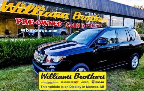 2017 Jeep Compass for sale at Williams Brothers - Pre-Owned Monroe in Monroe MI