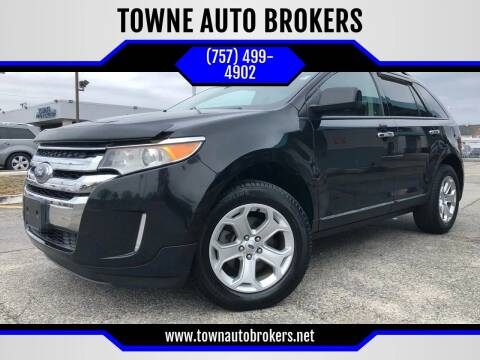 2011 Ford Edge for sale at TOWNE AUTO BROKERS in Virginia Beach VA