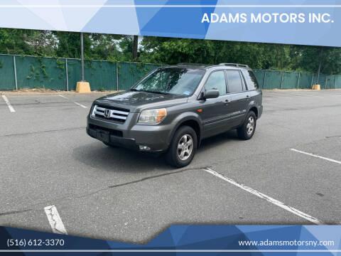 2007 Honda Pilot for sale at Adams Motors INC. in Inwood NY