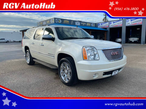 2009 GMC Yukon XL for sale at RGV AutoHub in Harlingen TX