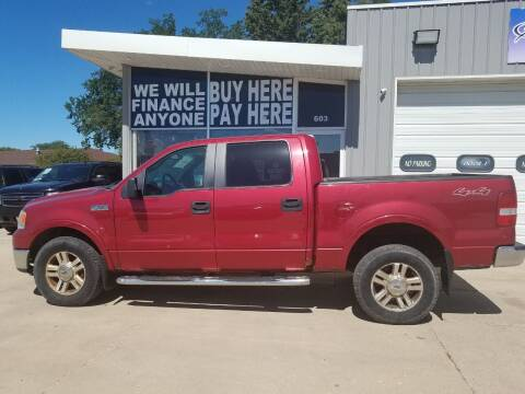 2007 Ford F-150 for sale at STERLING MOTORS in Watertown SD