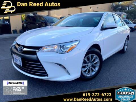 2016 Toyota Camry for sale at Dan Reed Autos in Escondido CA