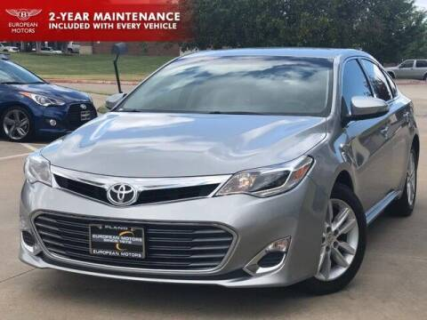 2015 Toyota Avalon for sale at European Motors Inc in Plano TX