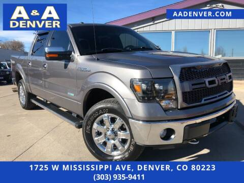 2013 Ford F-150 for sale at A & A AUTO LLC in Denver CO