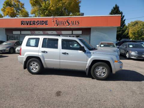 2008 Jeep Patriot for sale at RIVERSIDE AUTO SALES in Sioux City IA