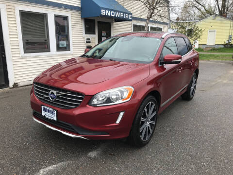 2015 Volvo XC60 for sale at Snowfire Auto in Waterbury VT
