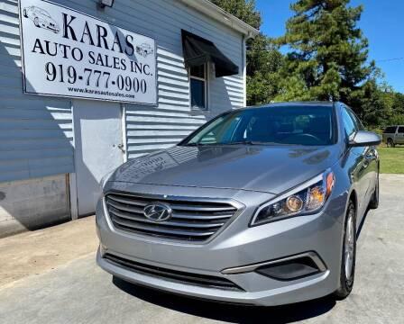 2017 Hyundai Sonata for sale at Karas Auto Sales Inc. in Sanford NC