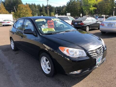 2010 Hyundai Elantra for sale at Freeborn Motors in Lafayette, OR