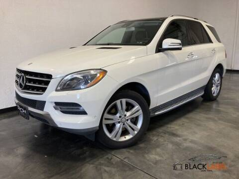 2013 Mercedes-Benz M-Class for sale at BLACK LABEL AUTO FIRM in Riverside CA