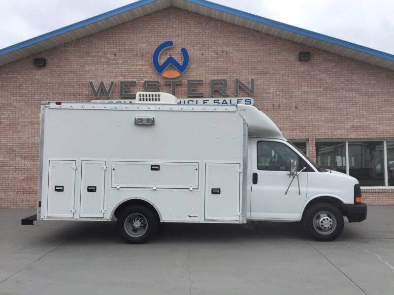 2003 Chevrolet Express KUV Van for sale at Western Specialty Vehicle Sales in Braidwood IL