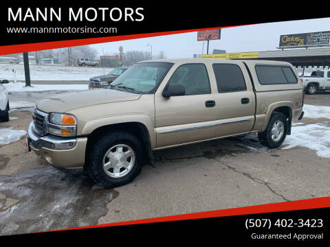 2005 GMC Sierra 1500 for sale at MANN MOTORS in Albert Lea MN
