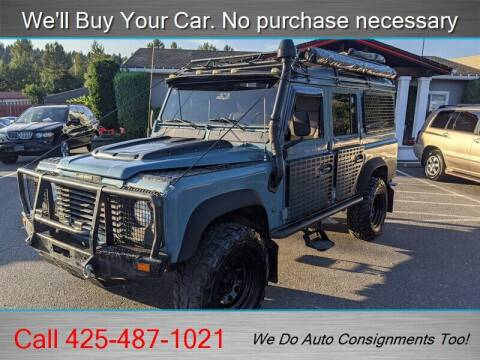 1993 Land Rover Defender for sale at Platinum Autos in Woodinville WA