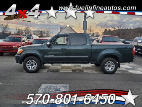2006 Toyota Tundra for sale at FUELIN FINE AUTO SALES INC in Saylorsburg PA