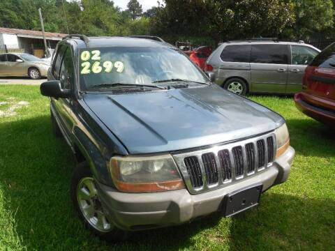 2002 Jeep Grand Cherokee for sale at SCOTT HARRISON MOTOR CO in Houston TX