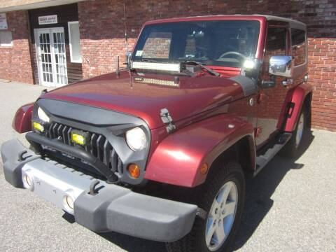 2008 Jeep Wrangler for sale at Tewksbury Used Cars in Tewksbury MA