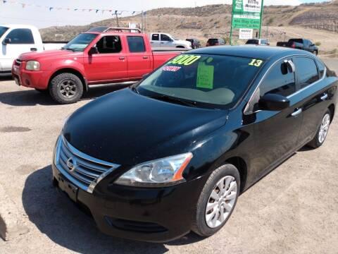 2013 Nissan Sentra for sale at Hilltop Motors in Globe AZ