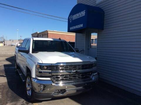 2017 Chevrolet Silverado 1500 for sale at Browning Chevrolet in Eminence KY