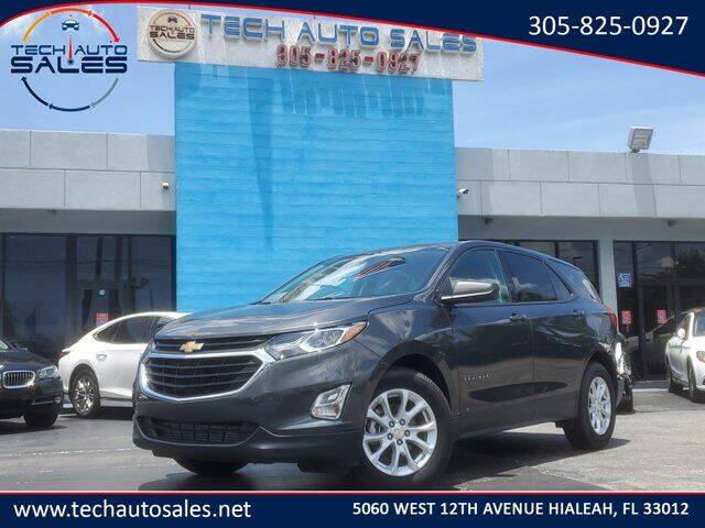 2018 Chevrolet Equinox for sale at Tech Auto Sales in Hialeah FL