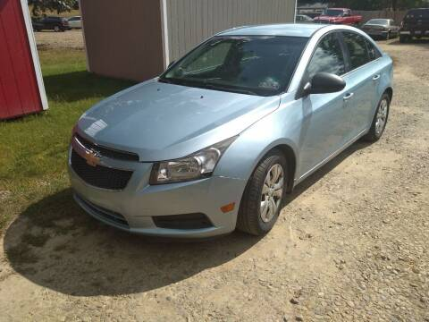 2012 Chevrolet Cruze for sale at Seneca Motors, Inc. (Seneca PA) - SHIPPENVILLE, PA LOCATION in Shippenville PA