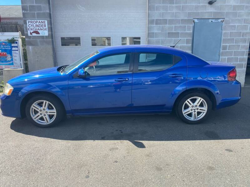 2012 Dodge Avenger for sale at Pafumi Auto Sales in Indian Orchard MA