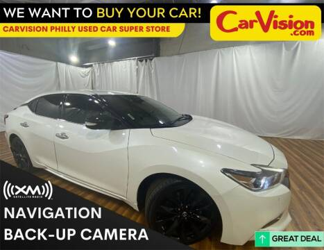 2017 Nissan Maxima for sale at Car Vision Mitsubishi Norristown - Car Vision Philly Used Car SuperStore in Philadelphia PA