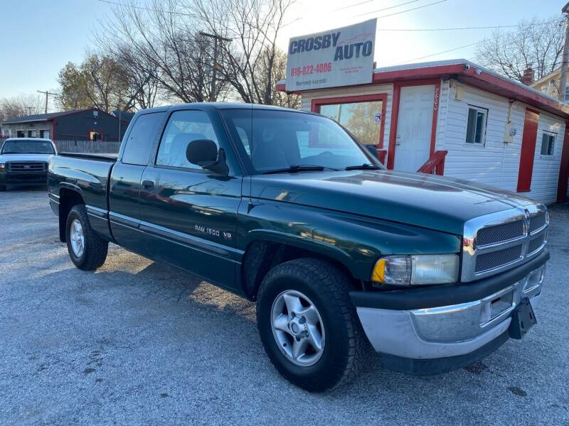 1999 Dodge Ram Pickup 1500 for sale at Crosby Auto LLC in Kansas City MO
