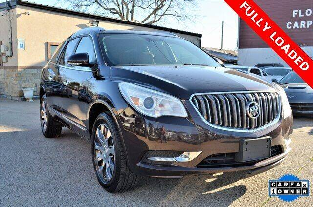 2016 Buick Enclave for sale at LAKESIDE MOTORS, INC. in Sachse TX