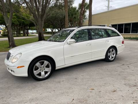 2006 Mercedes-Benz E-Class for sale at Ultimate Dream Cars in Royal Palm Beach FL