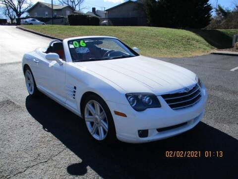 2006 Chrysler Crossfire for sale at Euro Asian Cars in Knoxville TN