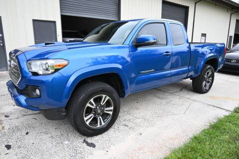 2016 Toyota Tacoma for sale at Thurston Auto and RV Sales in Clermont FL