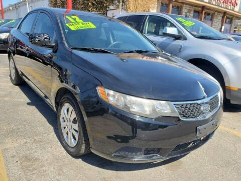 2012 Kia Forte for sale at USA Auto Brokers in Houston TX