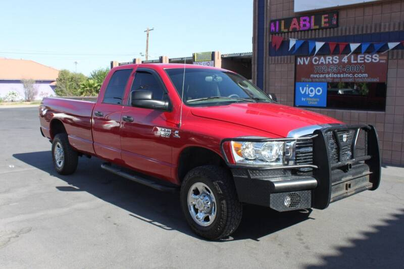 2008 Dodge Ram Pickup 3500 for sale at NV Cars 4 Less, Inc. in Las Vegas NV