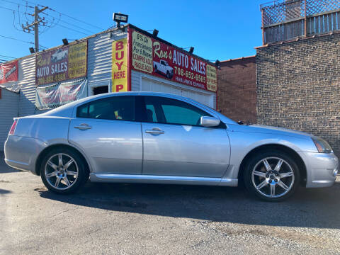 2008 Mitsubishi Galant for sale at RON'S AUTO SALES INC in Cicero IL
