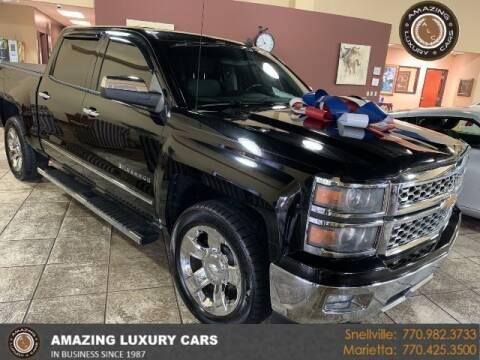 2014 Chevrolet Silverado 1500 for sale at Amazing Luxury Cars in Snellville GA