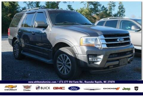 2016 Ford Expedition for sale at WHITE MOTORS INC in Roanoke Rapids NC