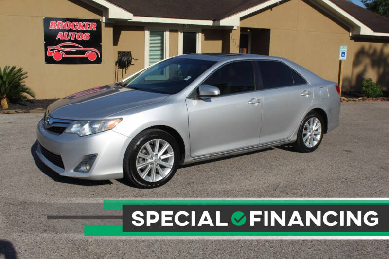 2013 Toyota Camry for sale at Brocker Autos in Humble TX