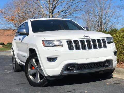 2014 Jeep Grand Cherokee for sale at William D Auto Sales in Norcross GA