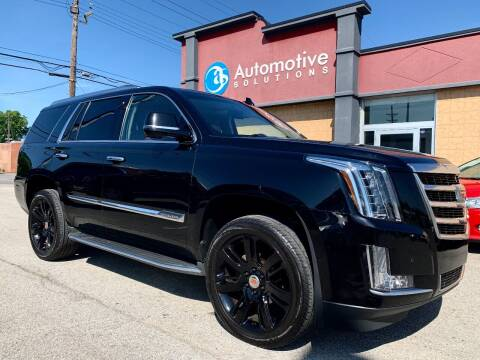 2015 Cadillac Escalade for sale at Automotive Solutions in Louisville KY