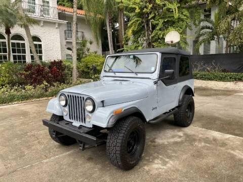 1984 Jeep CJ-7 for sale at Classic Car Deals in Cadillac MI