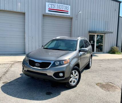 2013 Kia Sorento for sale at CTN MOTORS in Houston TX